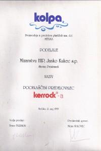 Mizarstvo HIP_certifikat Kerrock